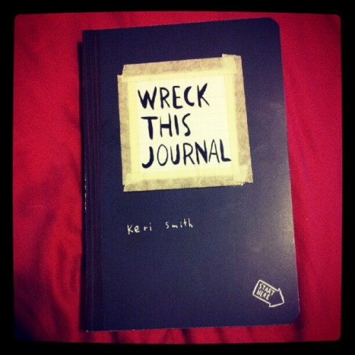 I cant wait to start! #book #journal #art (Taken with instagram)