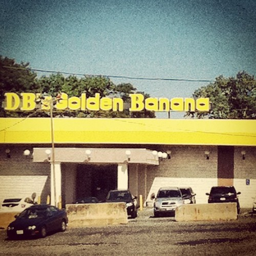 Always a good time to be had at DB's Golden Banana.  (Taken with instagram)