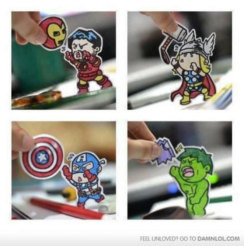 thetaylaanne:  The Avengers