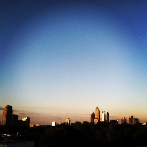 Atlanta, I love you already :) (Taken with instagram)