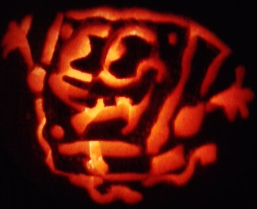 Just in case somebody didn't see the pumpkin I made a few years back