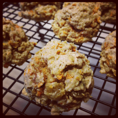 Just made some carrot cake cookies  Vegan & gluten free