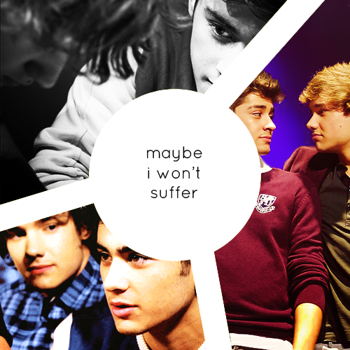 compels:  maybe i won't suffer — a zayn/liam fanmix 1. Untouchable Face // Ani DiFranco2. Crowd Surf Off a Cliff // Emily Haines & the Soft Skeleton3. Piece of You // The Pierces4. Globes & Maps // Something Corporate5. Everything Must Find Its Place // Sleeperstar6. Nobody Puts Baby In The Corner // Fall Out Boy7. Sorry // Maria Mena8. Lies // Marina & the Diamonds9. Ways & Means // Snow Patrol10. Sunburn // Ed Sheeran11. Breathe Again // Sara Bareilles lyrics and download here at my lj