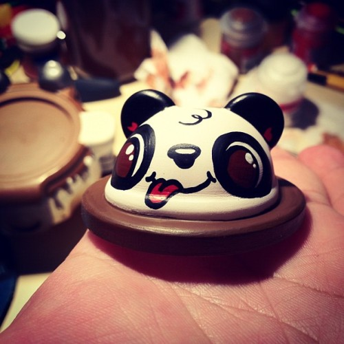 Derp Panda Face :) #podgonauts #fridaynightartdorks  (Taken with instagram)