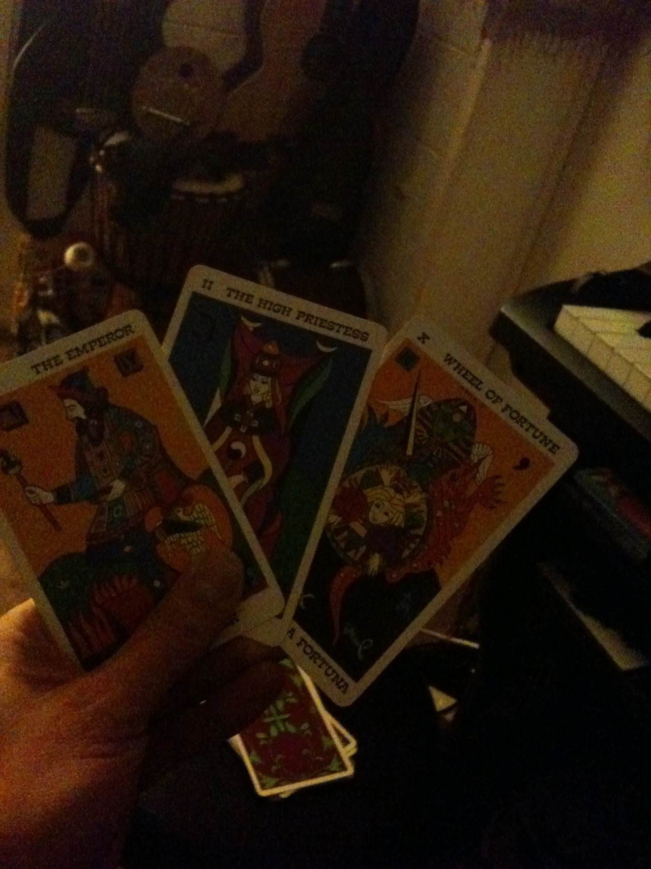 so the cards are always right.. and this is a great reading. i shall be patient. take it easy. and solid foundations behind new friendships hopefully will prove promising.