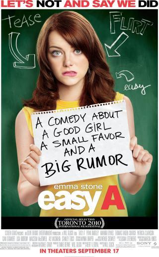 I am watching Easy A                                      Check-in to               Easy A on GetGlue.com