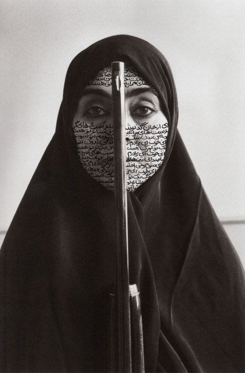 tndproject:  Shirin Neshat artist/photographer