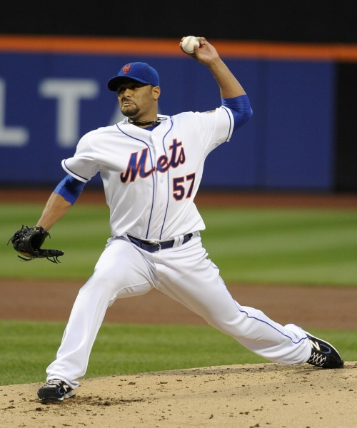 NO-han ! — Mets Ace Santana Tosses 1st No Hitter in Team History
