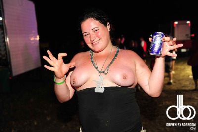 A lot of people hate on juggalos for being happy with who we are. This chick is amazing. The photo set it's from calls the gathering a feminist paradise. It's true. There is no judgement against people for being themselves, no shame for body types or sexuality.