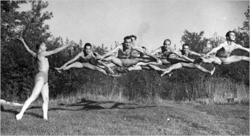 Students of modern dance pioneer, Ted Shawn