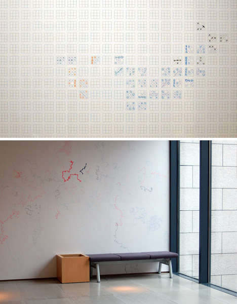 (via Emergent Patterns: Game Wallpapers Beat Dull Wall Decor | Designs & Ideas on Dornob) This should be in every office…