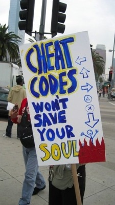 Cheat Codes Wont Save Your Soul