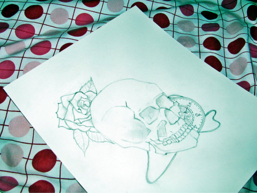 I might color the rose, haven't decided yet.