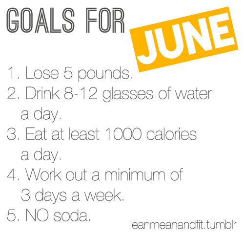 going to start doing this tomorrow! Had soda yesterday but no more now :D