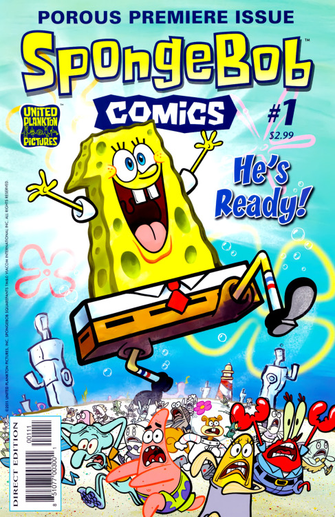 SpongeBob Comics #1