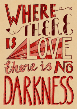 visualgraphic:  There is no darkness