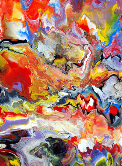 dearscience:  Abstract Liquid Painting by Mark Chadwick