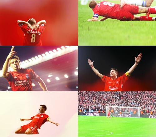 As he is (and ever shall be, Liverpool) Steven Gerrard