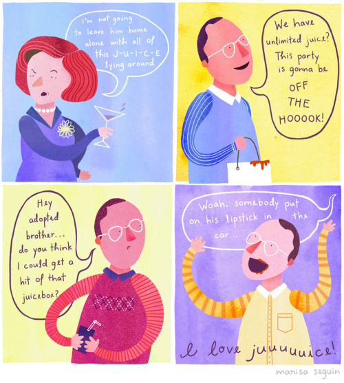 Arrested Development Illustrations by Marisa Seguin
