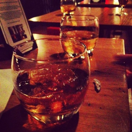 Time for bourbon  (Taken with Instagram at Twisted tail)
