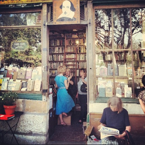 Shakespeare & Co. in Paris, FR / #latergram (Taken with instagram)