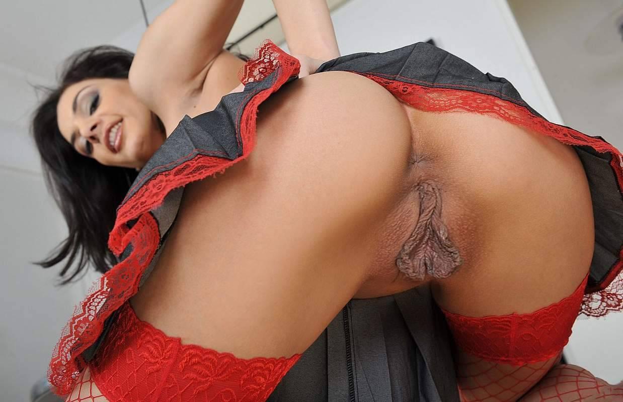 Big black labia