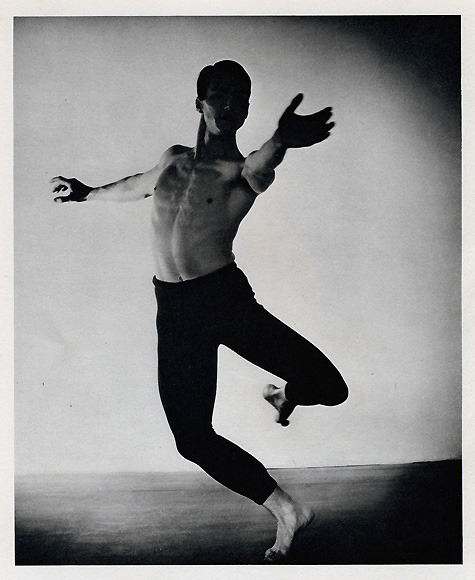 "Erick Hawkins, ""Ell Penitente"" for Martha Graham"