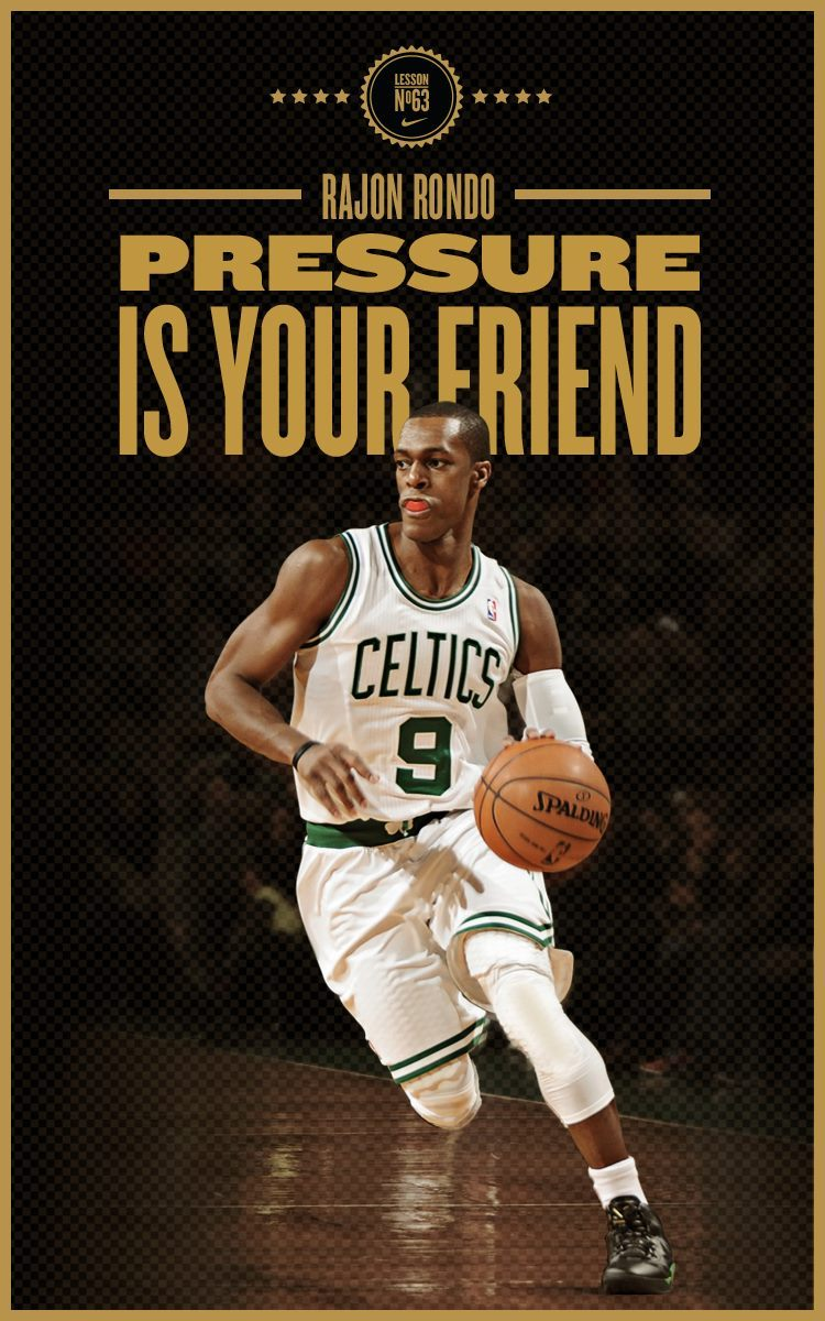 Pressure is your friend.