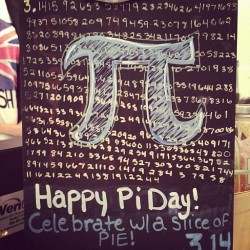 Pi day!!!!!!! #graphicdesign #magnoliabakerychicago #chicago #magnoliabakery  (Taken with instagram)