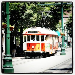 #trolley #memphis #tn #honeymoon #lofi (Taken with instagram)