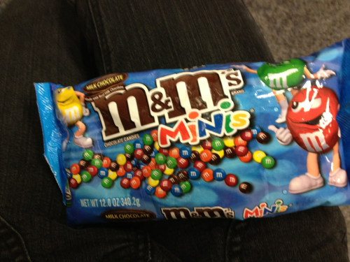 mini M&Ms are best!