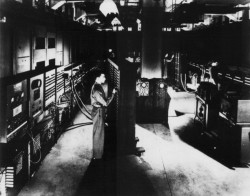 collective-history:  The ENIAC, which became operational in 1946, is considered to be the first general-purpose electronic computer.