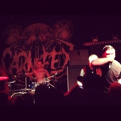 @pono26 's stage presence gives me stiffies.<3 #mortifyyourenemies #mortify #your #enemies #sexy (Taken with instagram)