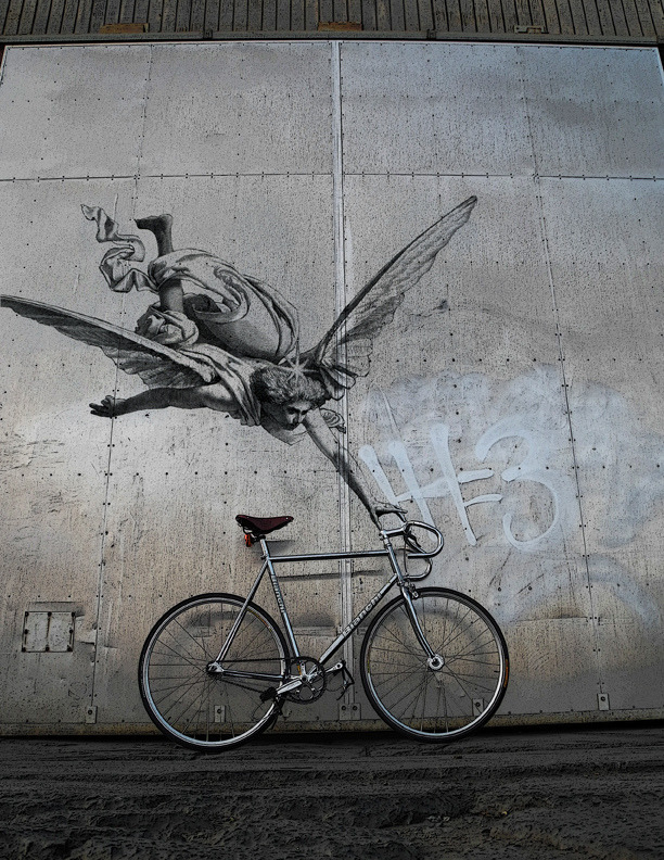bisikleta:  Bike angel (by SM 2011)