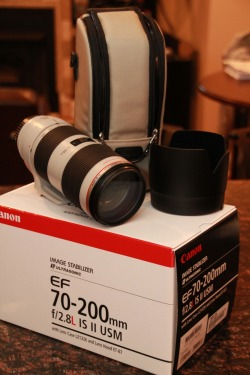 Got A New Lens… Canon EF 70-200mm f/2.8L IS II USM Telephoto Zoom Lens (: