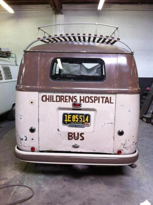 vwcamper:  First shot of this bus ever. Super secret project belonging to a friend!