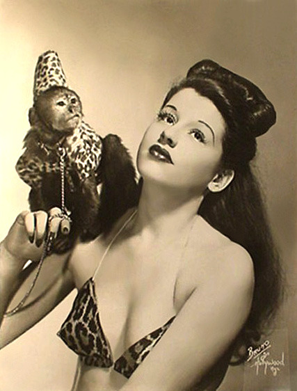 burleskateer:  Sally Lane  (and her Monkey)