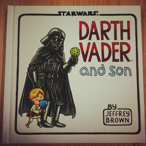 Love this book!!!! :-) #instagram #starwars #darthvader  (Instagramで撮影)