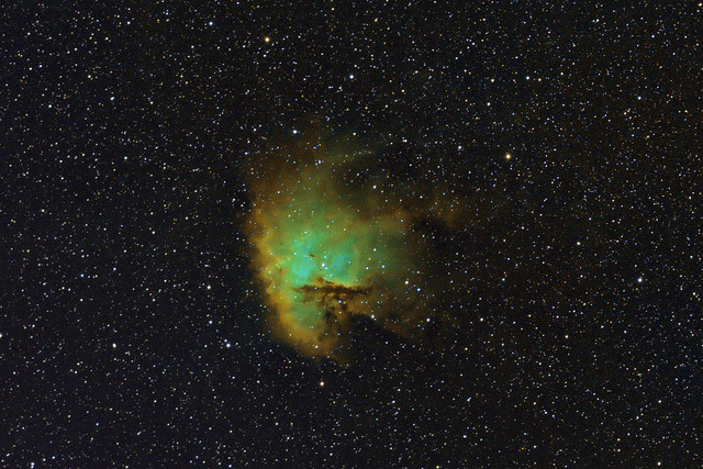Pacman Nebula (NGC281) by Willow Rise Observatory on Flickr.