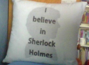 Pillow I made in textiles class :)