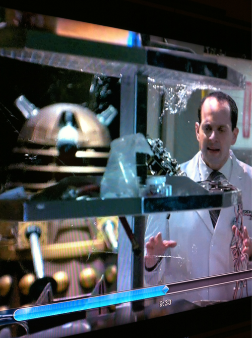 Dalek on Better Off Ted.