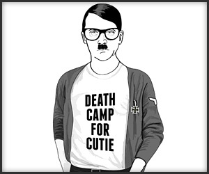 Hipster Hitler…oh how you make my day