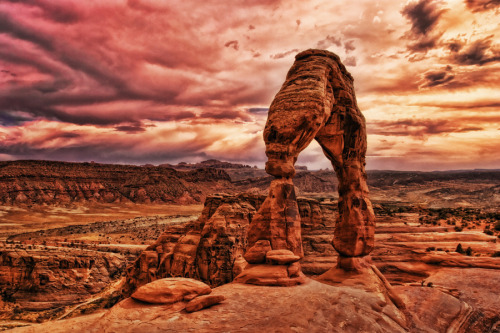 fuckyeahprettyplaces:  Arches National Park, Utah.