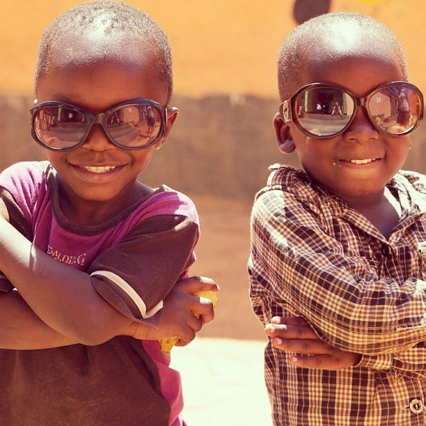 "scarlettinuganda:  Andrew and his mate pulling off the ""Bad Boys"" look. #Kampala #Uganda #Africa (Taken with Instagram at Freedom Children's Home)"