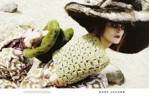 Marc Jacobs fall/winter 2012 advertising preview.  via Fashionista