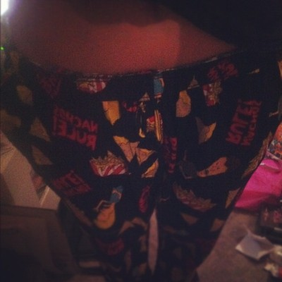 Can we all take a moment to appreciate my PJ pants? #beavisandbutthead (Taken with instagram)
