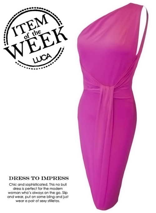 ITEM OF THE WEEK: YULIA DRESS (P2,450) Now available at http://www.shopluca.com