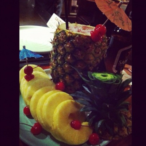 My pineapple mixed drank! ;)