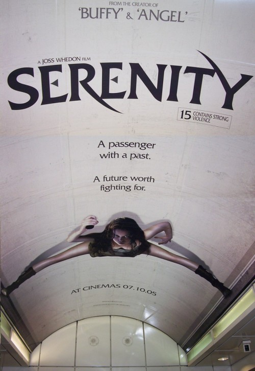 whedonesqued:  As seen in a London Underground Tube station