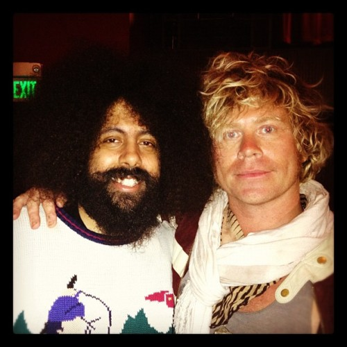 Big ups to the fabulous Reggie Watts who threw it down tonight. Gotta love this genius. A real psycadellic muhfuggah.  (Taken with instagram)